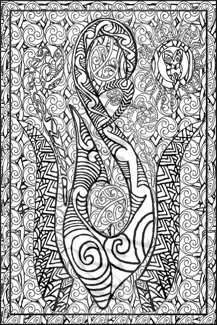 Te Manaia,Silver Fern;Tiki Sun;Lousephyr©2015