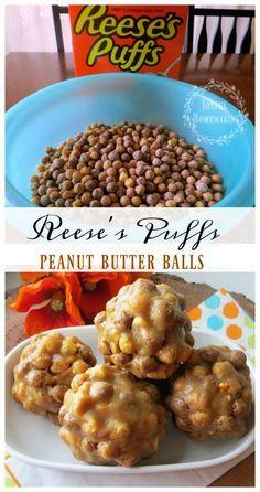 Reese�s Puffs Peanut Butter Balls