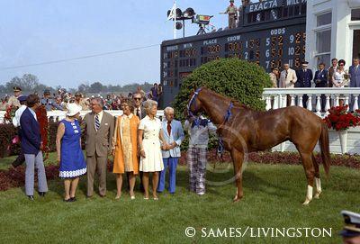 Secretariat Winners Circle Kentucky Derby Saratoga Horse