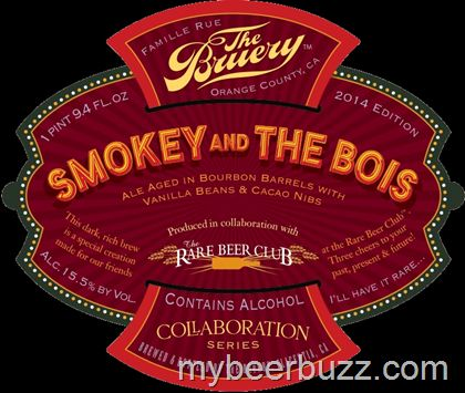mybeerbuzz.com - Bringing Good Beers & Good People Together...: The Bruery / Rare Beer Club - Smokey & The Bois