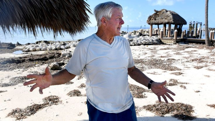 Hyde: Jimmy Johnson in pain, in tears — and in resolve to rebuild in the Keys   Commentary