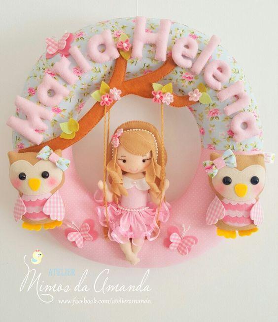 Guirlanda Linda - Mimos da Amanda