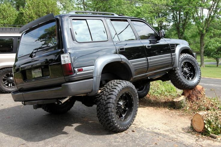 images of  modified 97' lexus lx450 | : Very clean 97 LX, here is the Craigslist link..... 97 Lexus LX450 ...
