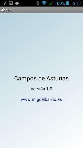 Ubicar los diferentes campos de fútbol de Asturias nunca fue tan fácil.<br>Simplemente pincha encima del nombre del campo y te mostrará la información de la superficie que es (natural, sintético o pista) y te llevará a un mapa en el que podrás ver dónde se halla.