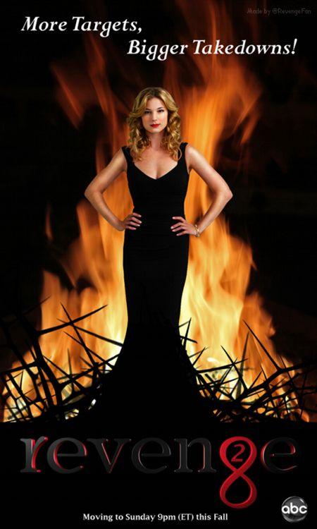 revenge season 2 - freakin' love this show and the new season starts!!!! Sweet Jesus!