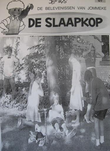 tableau vivant - stripboek