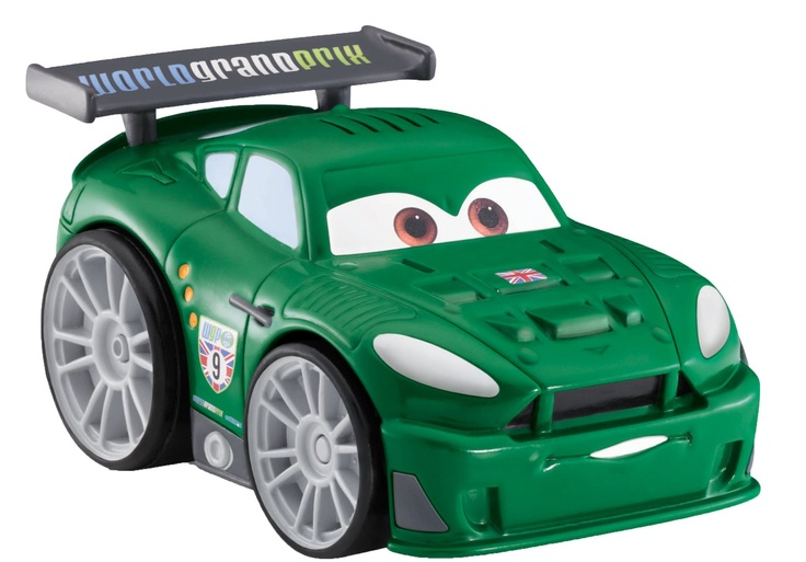 Fisher Price Shake 'n Go! Disney/Pixar Cars 2 - Nigel Gearsley