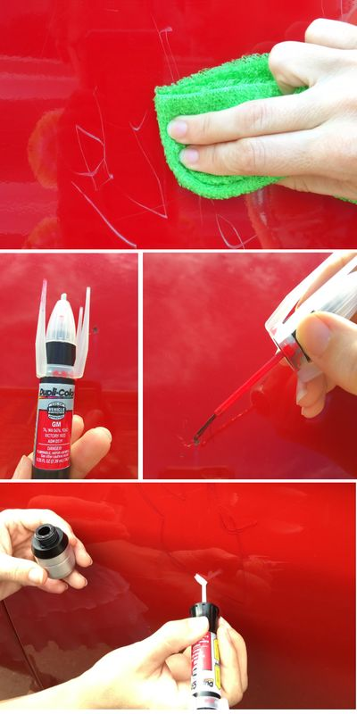 How 12 Can Fix Scratches In The Car Paint Hoodsupamerica Ad