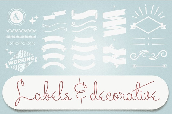 Labels & Decorative Vectors by tomodachi