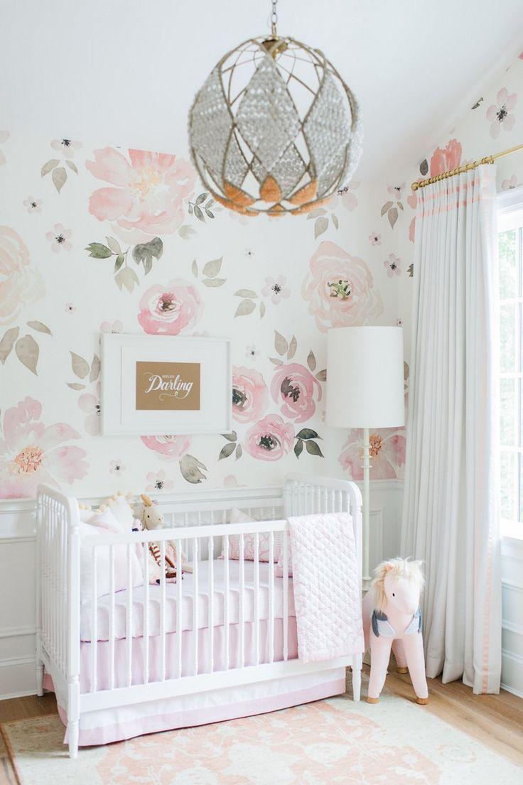 Die besten 25+ Babyzimmer tapete Ideen auf Pinterest | Baby ...