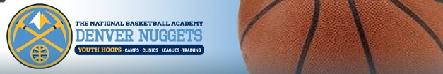 Nuggets Basketball Camp Banner