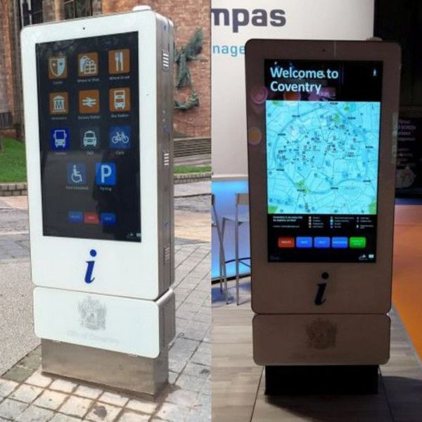 Digital kiosks in Coventry and Rushmoor to help customer navigation - Retail Design World