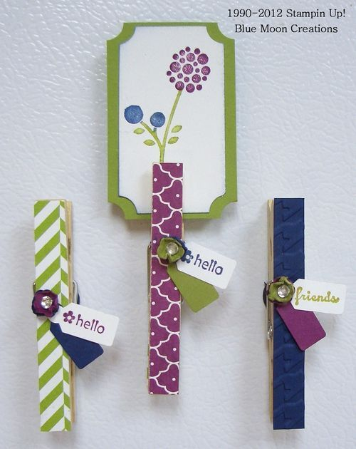 adorable altered clothespins