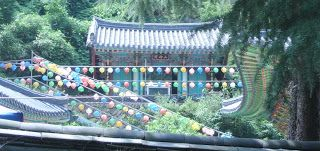Korean lanterns at a temple in Apsan, Daegu, South Korea. #Buddhism #korea #temple #daegu #lanterns #colorful #peace