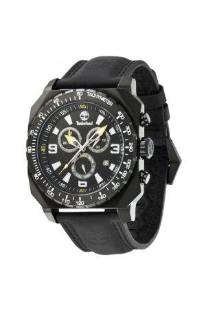 Stratham Chronograph Leather Watch