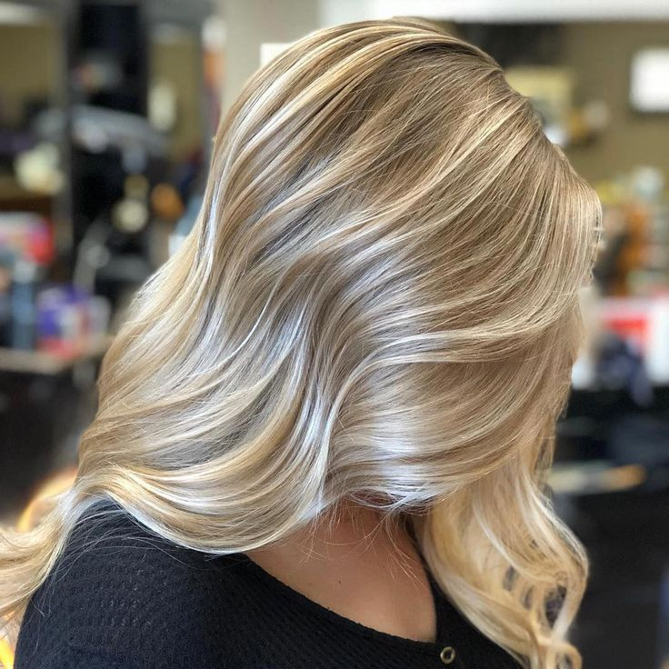 Картинки мелирования для светлых волос