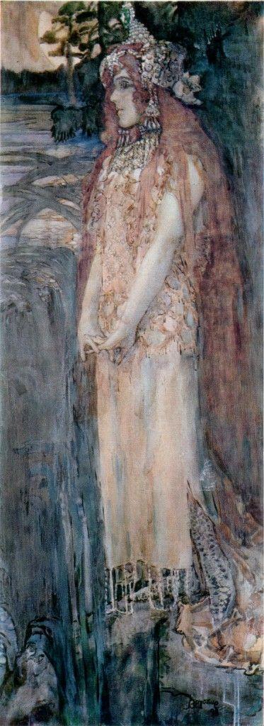 Nadezhda Zabela-Vrubel as Princess Volkhova - Mikhail Vrubel