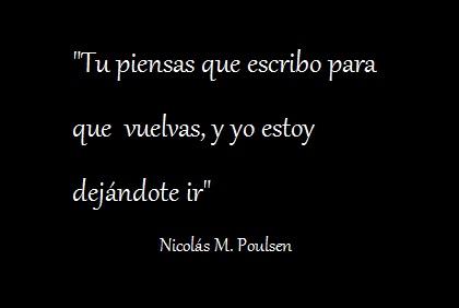 Despedida / Nicolás M. Poulsen