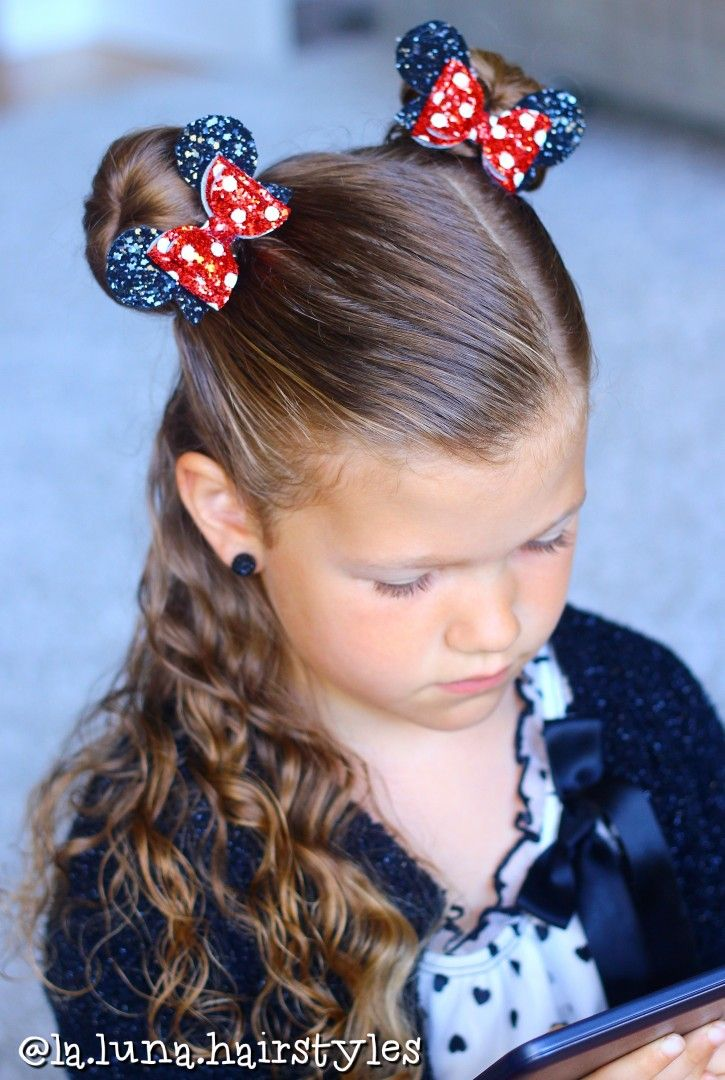 Cute Girls Hairstyle. Kids Hair Braids. School Hair. Easy