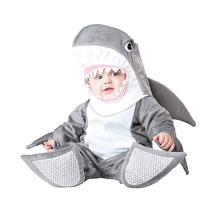 (29.75$)  Watch now  - High Quality Baby Halloween Autumn Christmas Romper Animals Clothes Kids Cosplay Shark Costume Rompers Children Clothing