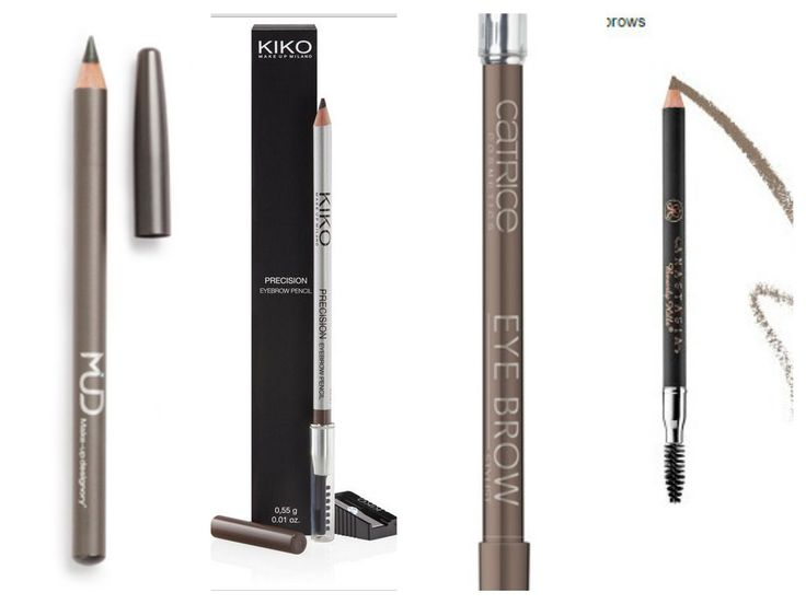 Best pencils for BLONDS My best list is from my experience, it was a big problem to find eyebrow pencil that looks natural, have right texture (hardness), doesn't smudge and have a good color ( no red pigment).