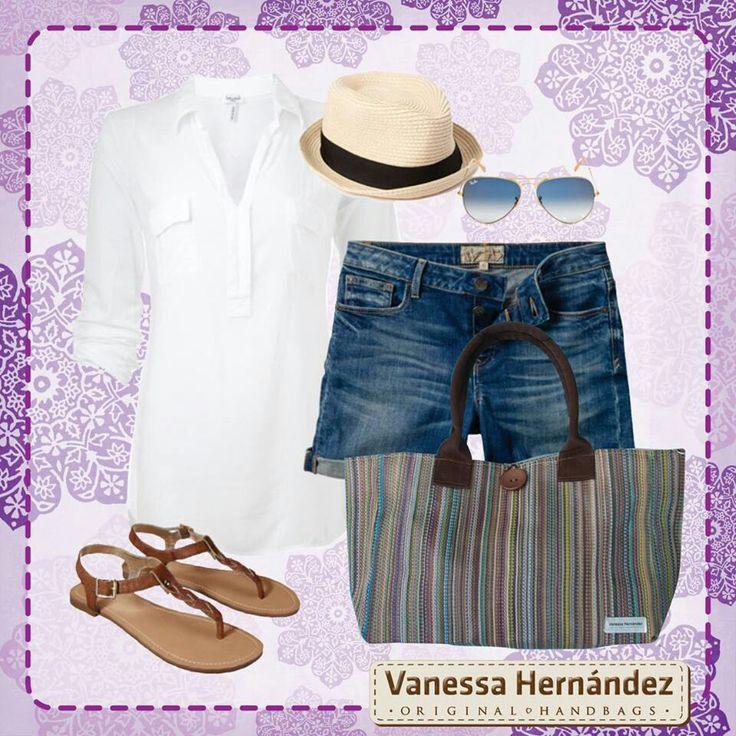 Para un día de playa, la mejor opción para licir comoda y bella es combinar tu atuendo con el modelo Cayo Sombrero #VhLook