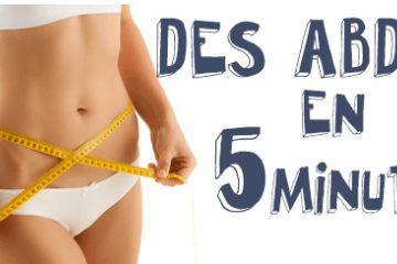 abdominaux en 5 minutes