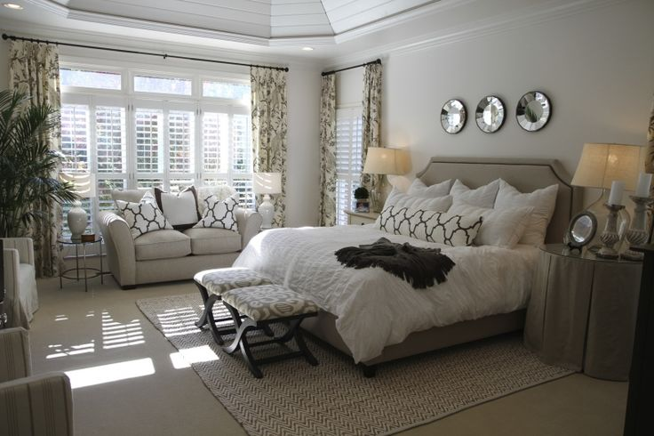 115 best images about bedrooms on pinterest for Beautiful neutral bedrooms