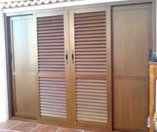 1000 images about ventanas on pinterest colors and sons - Puertas de aluminio color madera ...