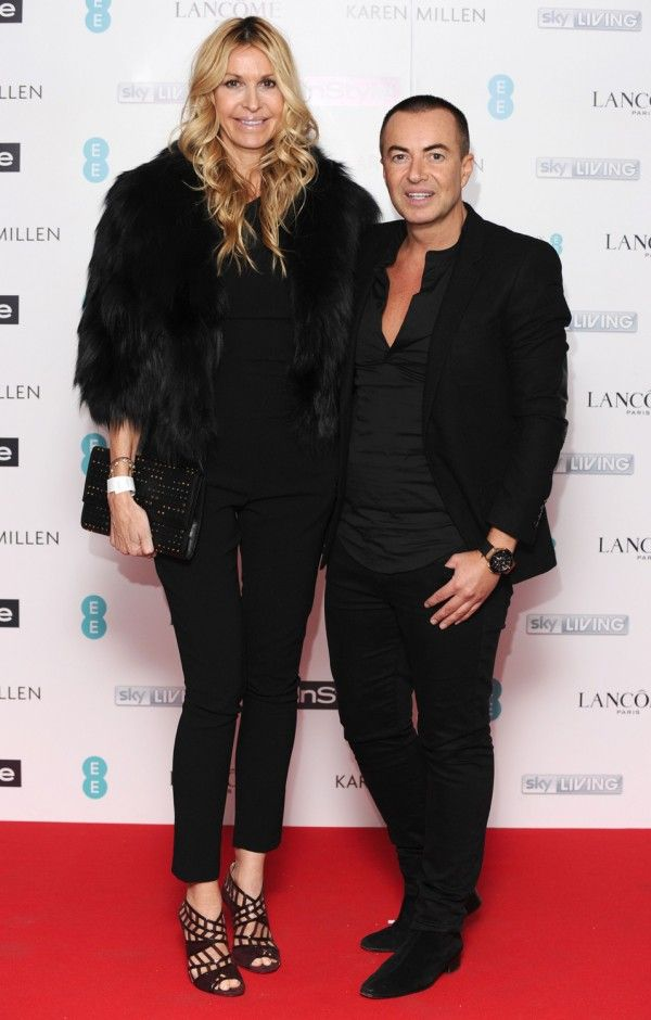 Melissa Odabash And Julien Macdonald At The InStyle BAFTA EE Rising Star Party 2015