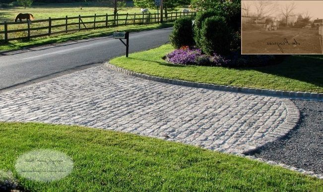half moon driveway landscape traditional with design contemporary tiki torches