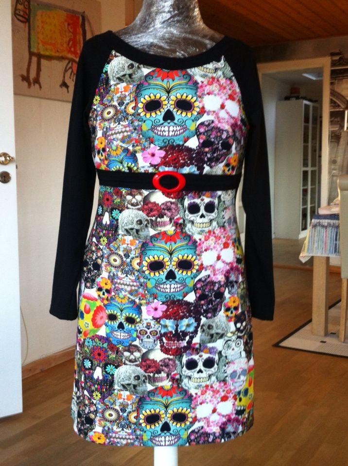 Jersy kjole