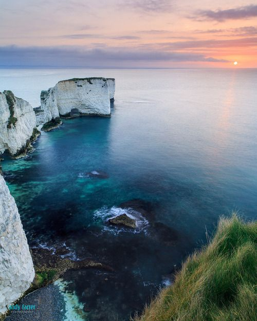 ~ Old Harry Rocks, the Isle of Purbeck, Dorset ~ where my family (Lander) is from ~ they were stone masons ~