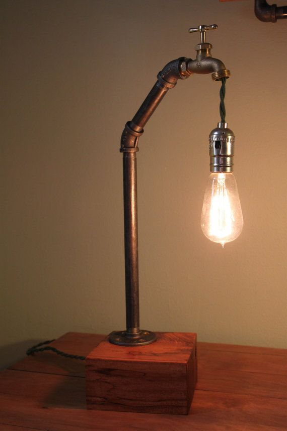 Industrial desk lamp by pgpostals on Etsy on Wanelo