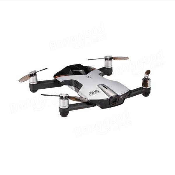 Wingsland S6 Pocket Selfie Drone WiFi FPV With 4K UHD Camera Comprehensive Obstacle Avoidance Sale - Banggood.com