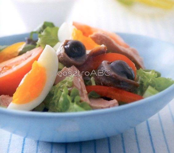 Nicoise saláta | Receptek | gasztroABC