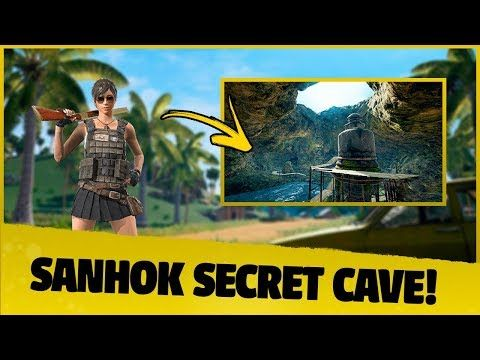 SECRET LOCATION* Sanhok Cave - New Map - PUBG Mobile