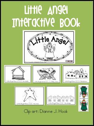 Printables: Books Positive, Christmas Wins, Angel Books, Interactive Books, Angel Free, Little Angel, Christmas Preschool, Angel Interactive, Kids Native