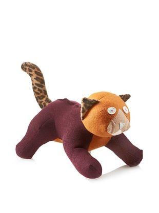 38% OFF Cate & Levi Unisex Cat Stuffed Animal, Grey/Brown