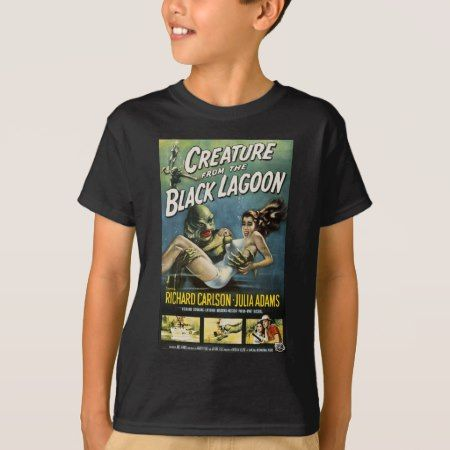 Vintage Movie Creature from Black Lagoon T-Shirt - tap to personalize and get yours