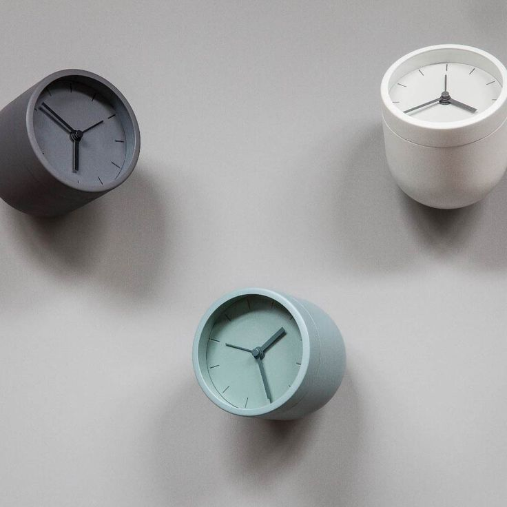 How unique are  these alarm clocks from AHAlife? LOVE the colors...another great gift idea!