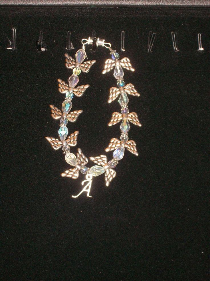 Angel bracelets. with charm.  #Angels #bracelet #jewelry