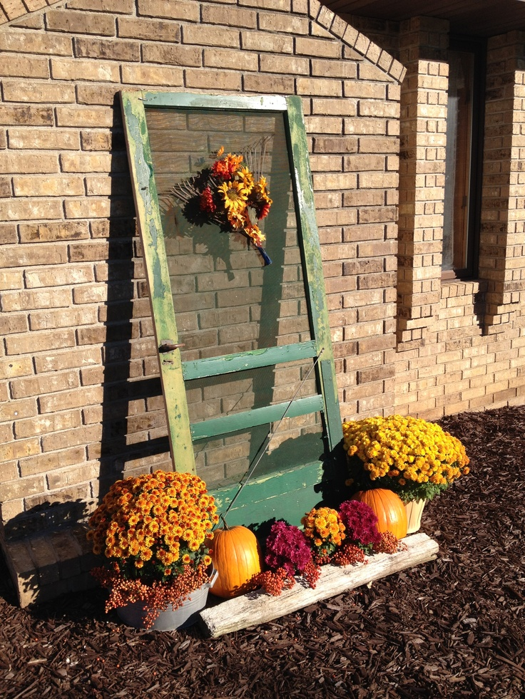 Wind Block Ideas For Patio: 24 Best Images About Uses For Old Screen Doors On