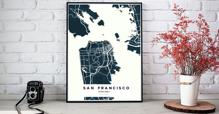 San Francisco | Custom Map Maker – Make Your Own Map Poster Online - YourOwnMaps