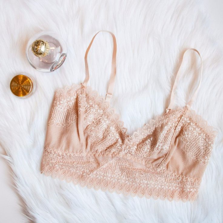 Image result for layered with lace bralettes