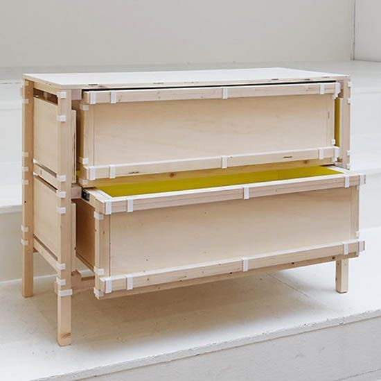 Boldly colored Dutch furniture designs that can be downloaded, customized and assembled at home.
