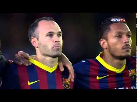 118. Tito Vilanova - Emotional minute of silence at El Madrigal
