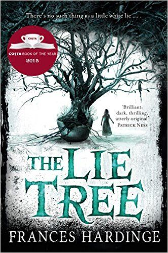 The Lie Tree, by Frances Hardinge (released Apr 19, 2016). On an island off the south coast of Victorian England, Faith investigates the mysterious death of her father, who was involved in a scandal. She discovers a tree that bears fruit only when she whispers a lie to it-- and the fruit, in turn, delivers a hidden truth. Does the tree hold the key to her father's murder? Or will it lead the murderer to Faith herself?