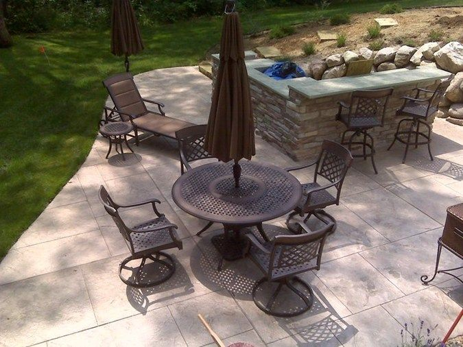 99 best concrete and resurfacing images on pinterest | concrete ... - Concrete Patio Resurfacing Ideas