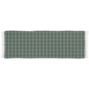 Meshed (Green) Tassel Scarf by Terrella
